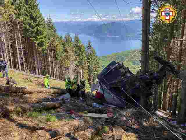 Seilbahnunglück bei Lago Maggiore - 14 Tote | SN.at