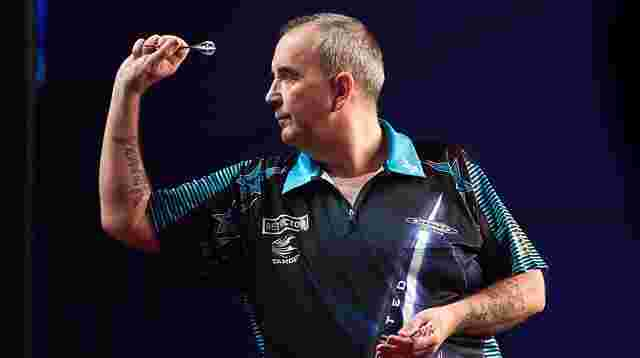 Darts-Legende Phil Taylor.