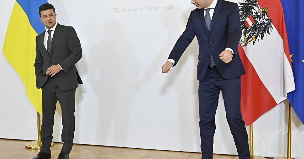 Selenskyj in Wien - Österreich hält an Nord Stream 2 fest   SN.at