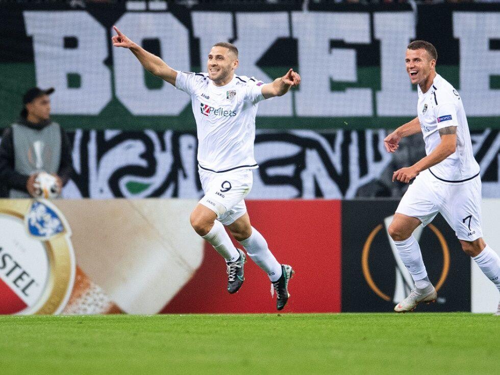 Sensation in Europa League: WAC überraschte mit 4:0-Sieg bei Mönchengladbach