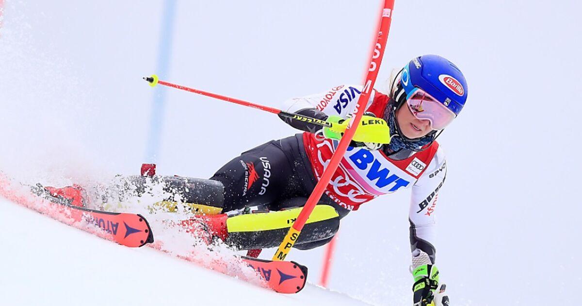 Slalom Der Damen