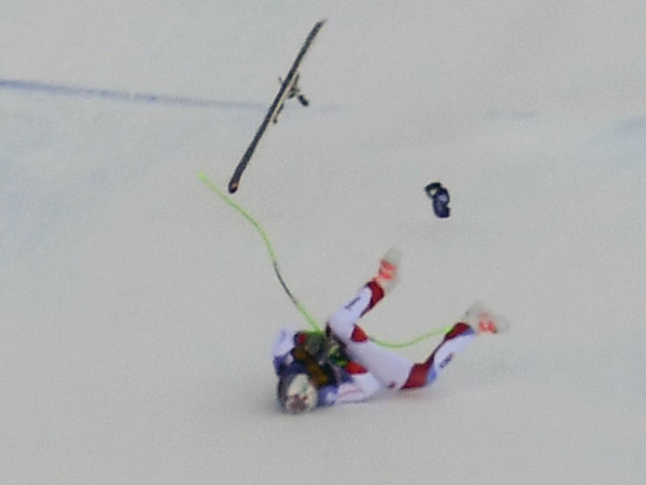Skirennfahrer Gisin hat keine schweren Kopf- oder Rückenverletzungen