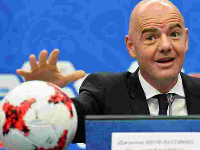 Fußball-Machthaber Gianni Infantino.