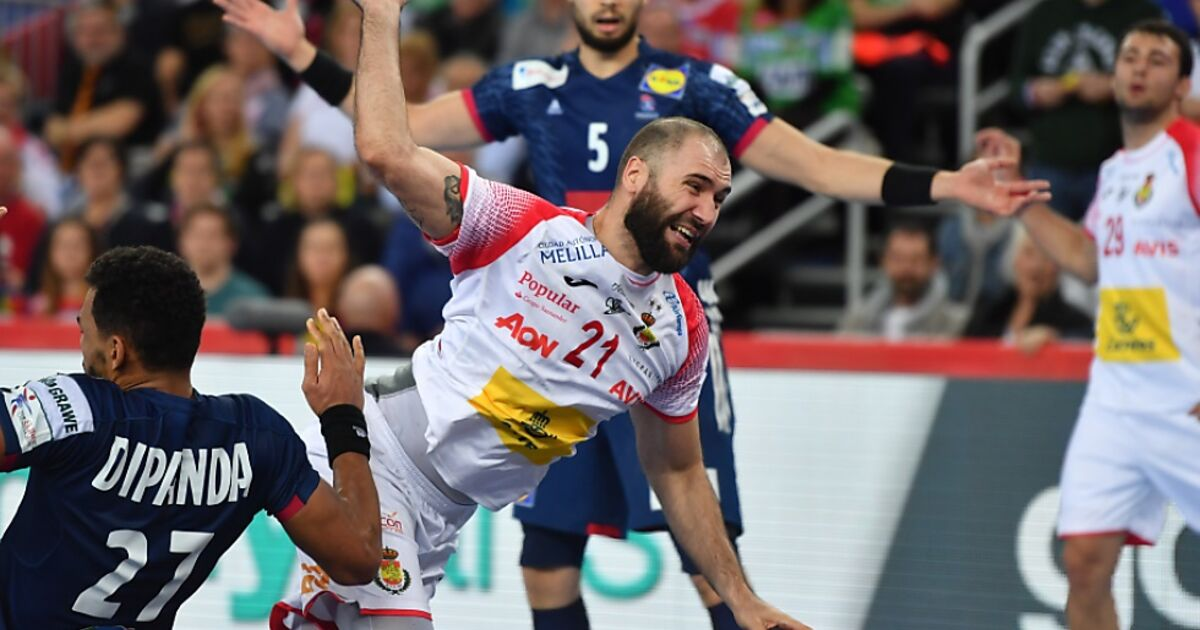 Handball Frankreich Spanien
