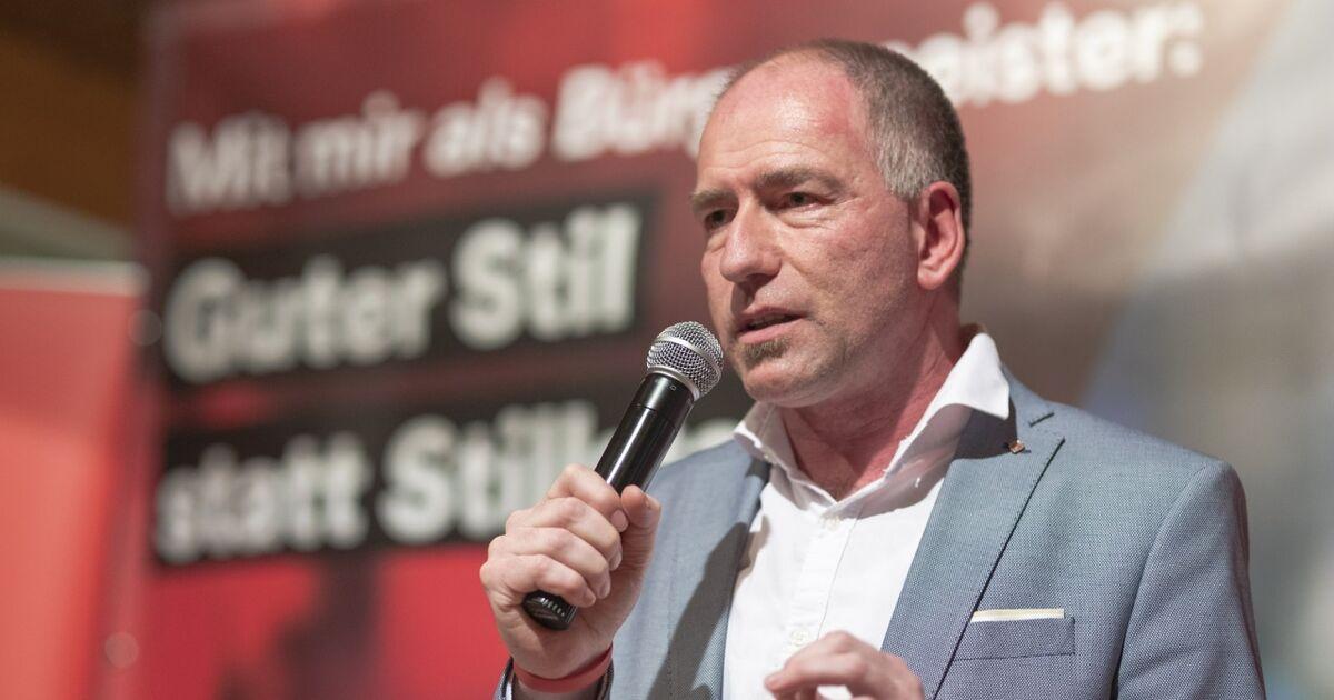 SPÖ-Wahlkampfauftakt in Hallein: Alexander Stangassinger will