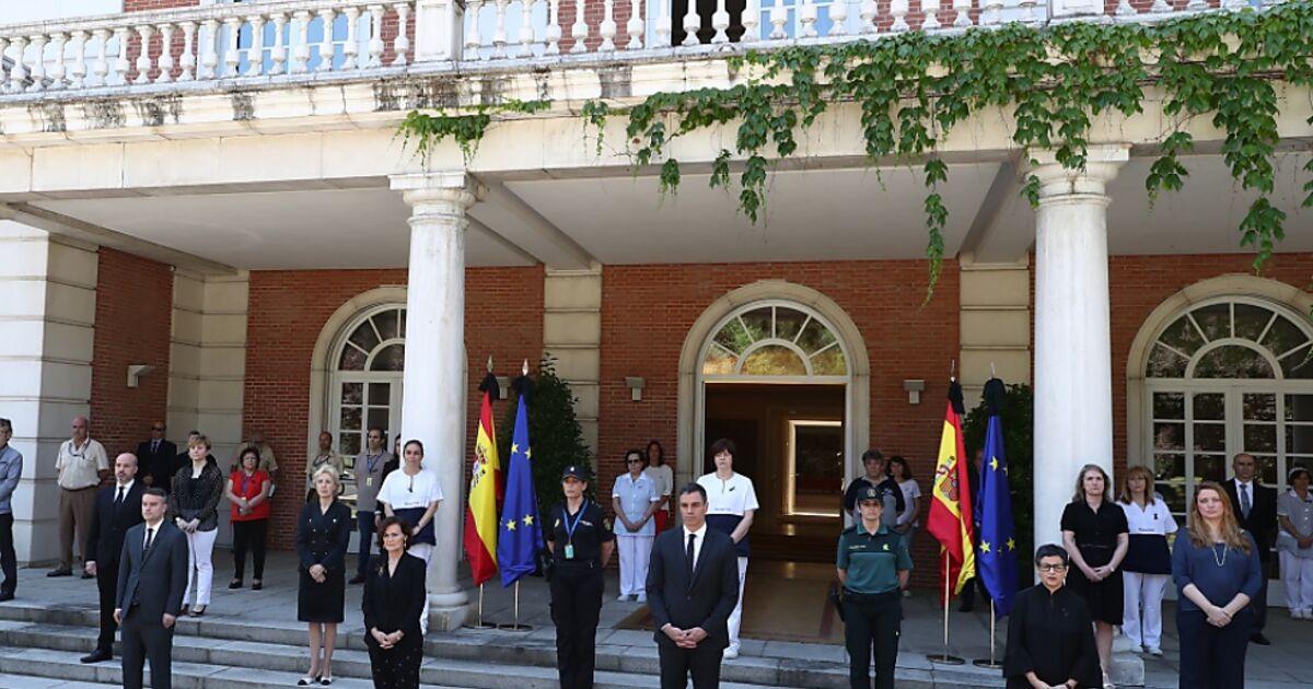 Corona Tote Spanien