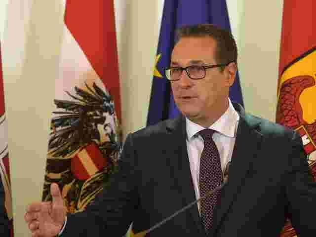 Heinz-Christian Strache - Österreichs Vizekanzler hält EU-Freizügigkeit für unzeitgemäß