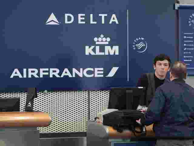Schalter der Delta Air Lines in Chicago