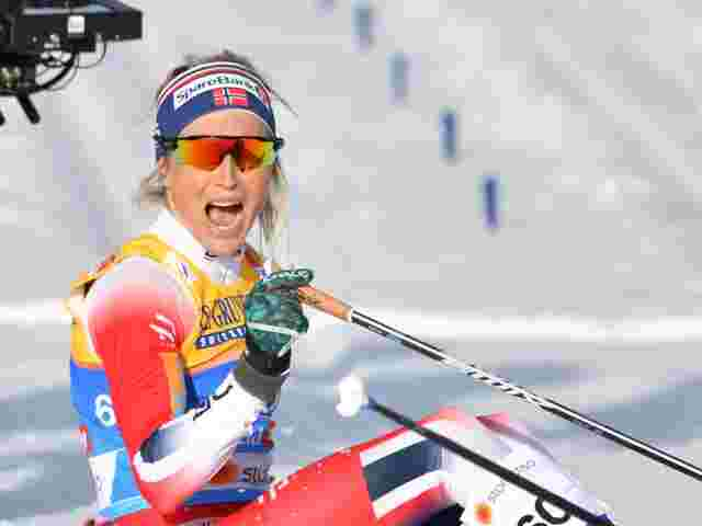 Gold an Therese Johaug