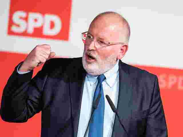 Europa: Timmermans soll Sozialdemokraten in die Europawahl führen