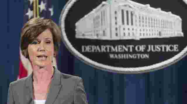 Sally Yates.