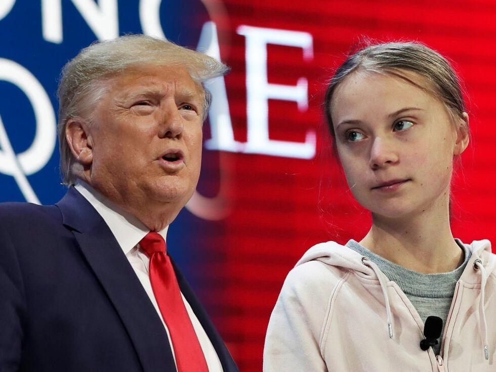 Trump vs. Thunberg: In welche Richtung geht die Welt?