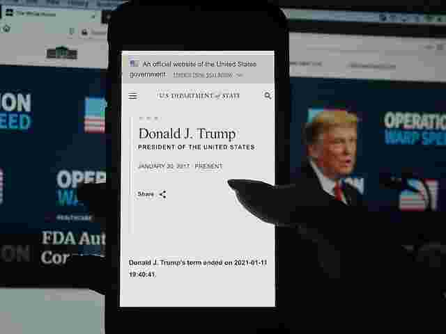 US-Ministerium verkündete vorzeitigen Trump-Rückzug