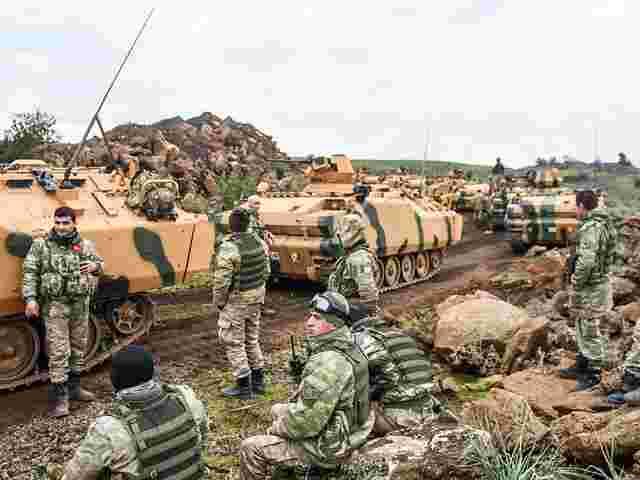 Russische Bodentruppen In Syrien
