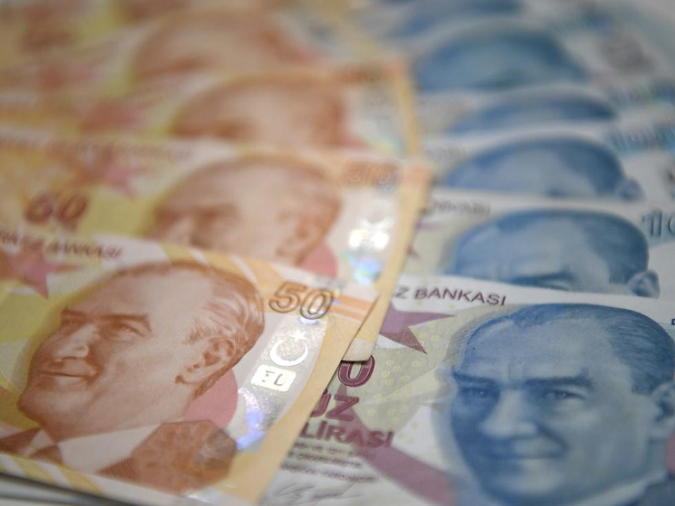 Türkische Lira erholt sich etwas