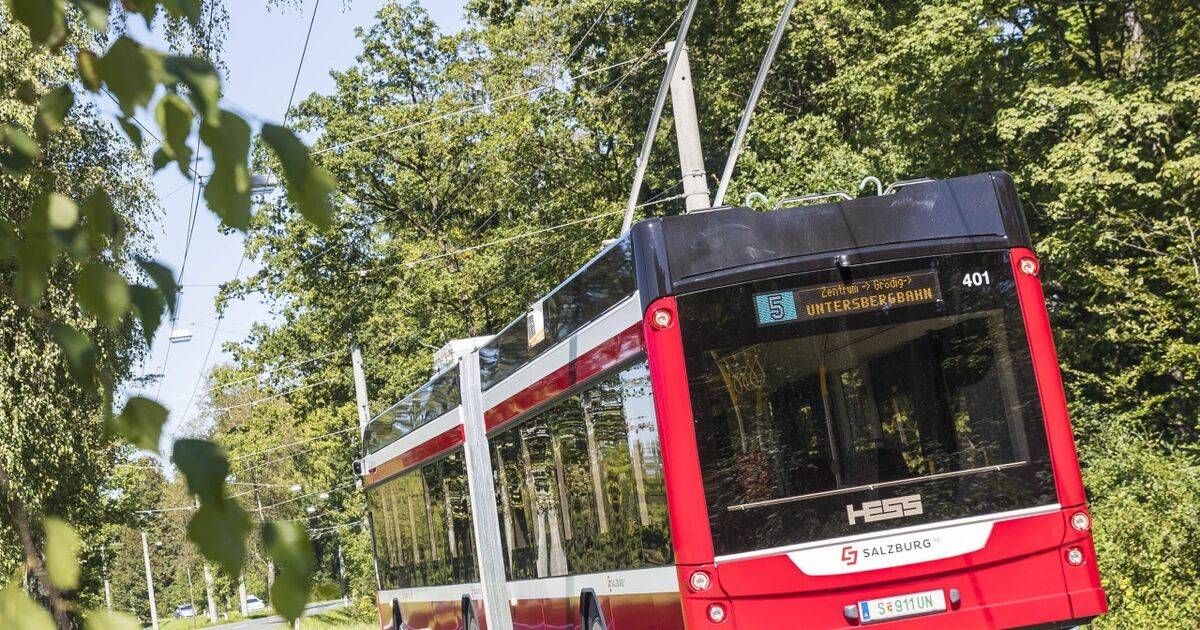 Um einen Euro in die Stadt Salzburg: Günstige Öffi-Tickets in Grödig sind ausverkauft - Salzburger Nachrichten