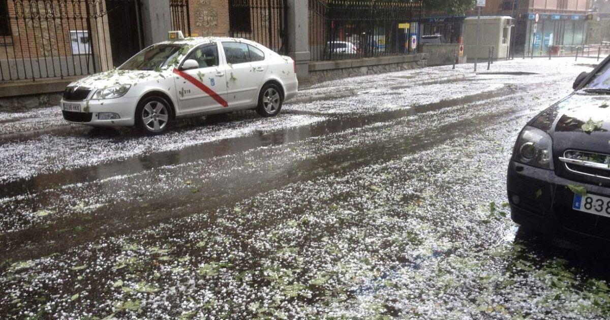 Madrid Unwetter