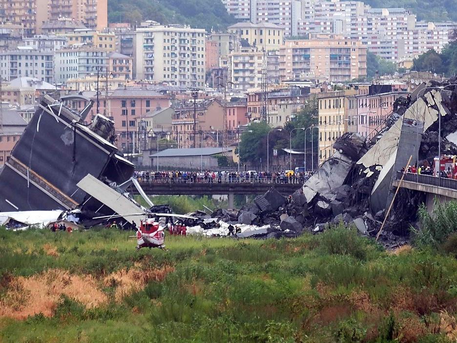 Ursachensuche nach verheerendem Brücken-Einsturz inGenua