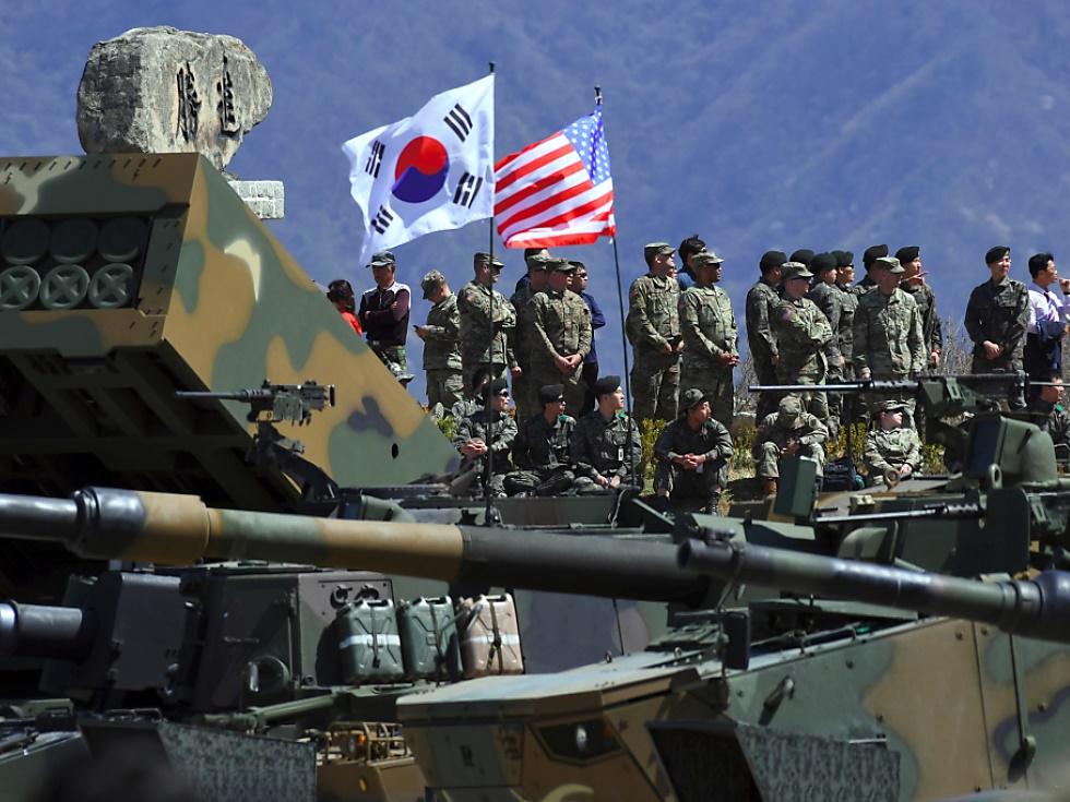 USAstoppen Planungen für gemeinsames Manöver mit Südkorea
