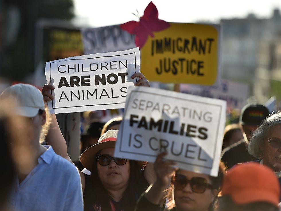 USA verteidigen umstrittene Familientrennungen an der Grenze