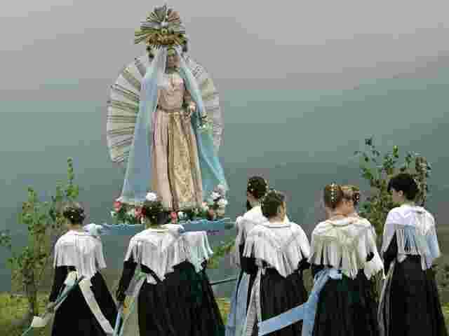 Prozessionen, Beten, das Katholische: Im Werk von Thomas Bernhard taucht viel davon auf.