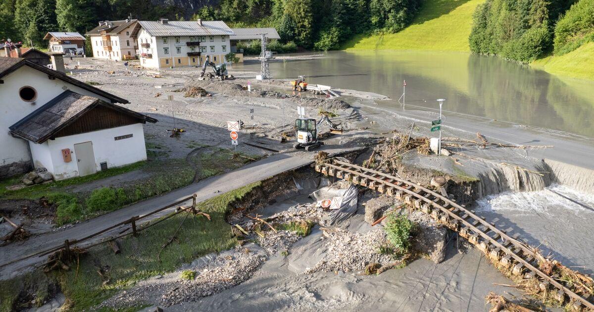 """Verwüstete Pinzgaubahn - """"wann müssen wir sie das nächste Mal wiederaufbauen?"""""""