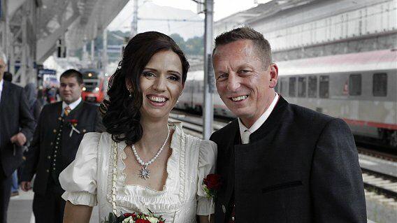 Video Hochzeit Im Zug Von Salzburg Nach Innsbruck Snat