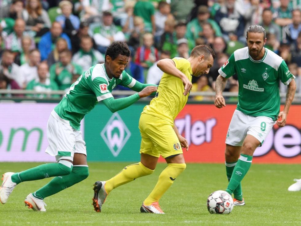 Werder Bremen am Samstag im Cup in Worms ohne Harnik