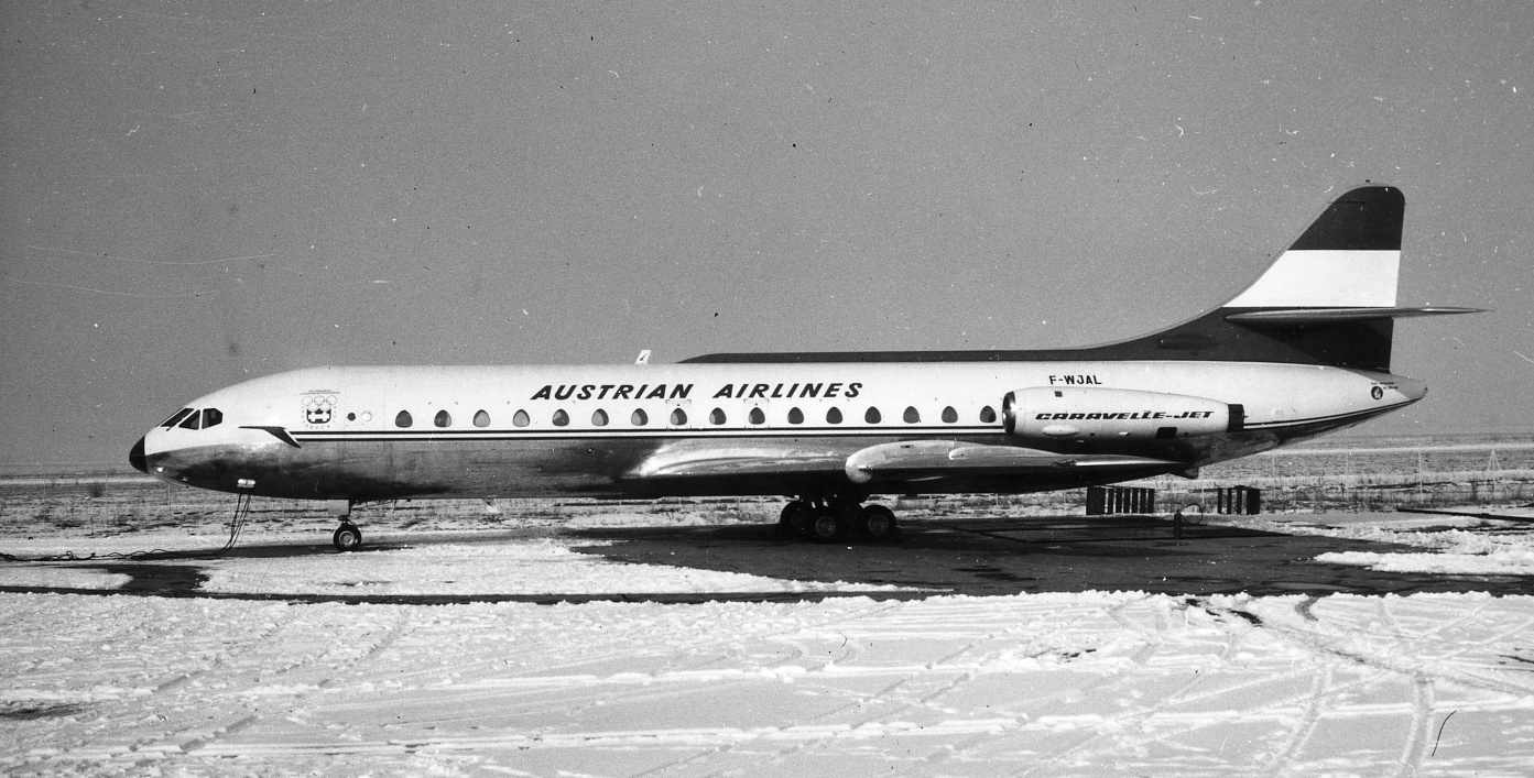 Caravelle Austrian Airlines 1963