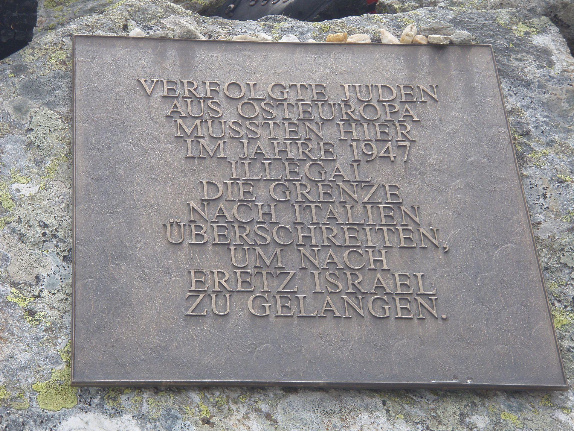 https://www.sn.at/wiki/images/c/c8/Gedenktafel_am_Krimmler_Tauern.jpg