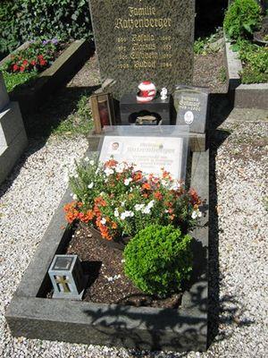 Roland Ratzenberger Grab