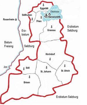 Chiemsee Karte Pdf.Bistum Chiemsee Salzburgwiki