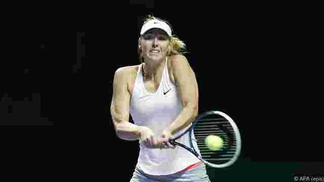 WTA-Finals: Scharapowa in Singapur out