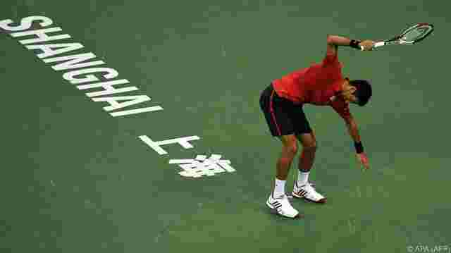 Wütender Djokovic in Shanghai out - Murray im Endspiel