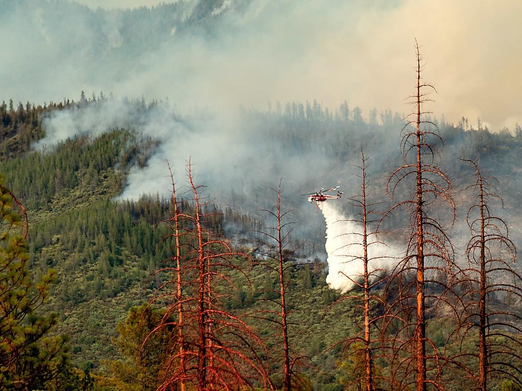 Yosemite-Tal nach drei Wochen wieder geöffnet