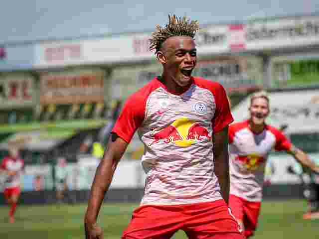 Salzburg-Goalgetter Junior Adamu.
