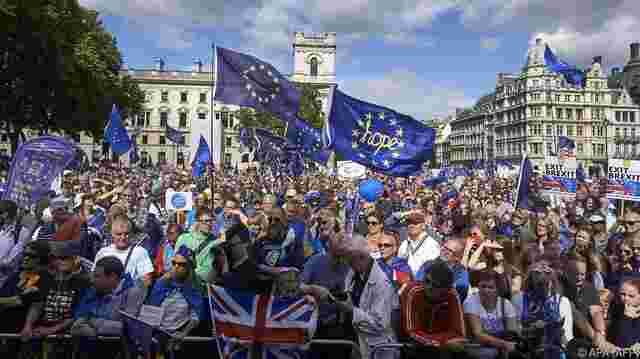 Pro-EU-Demo in London.