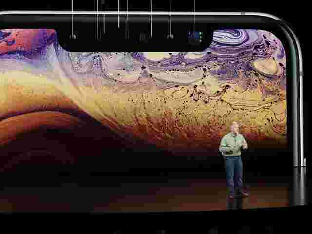 Apple-Manager Phil Schiller bei der iPhone-Präsentation im September.