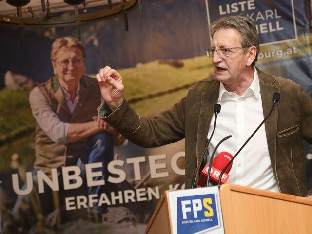 Namensgeber: Der ehemalige FPÖ-Politiker Karl Schnell.
